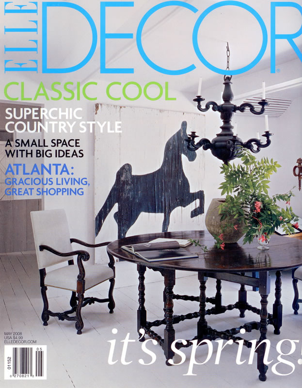 Elle Decor, May 2008