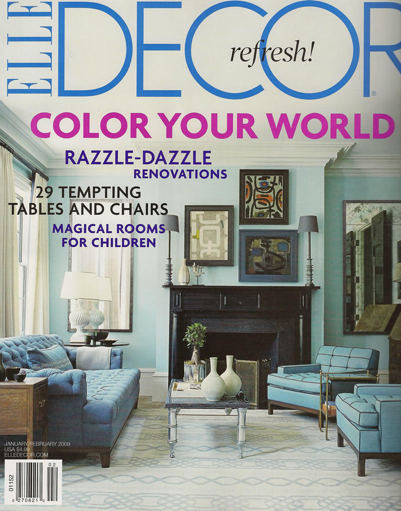 Elle Decor, Jan-Feb 2009